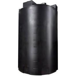 5000 Gallon Black Vertical Storage Tank