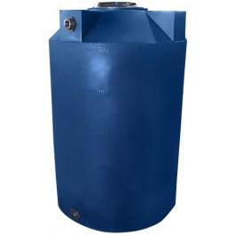500 Gallon Dark Blue Vertical Storage Tank