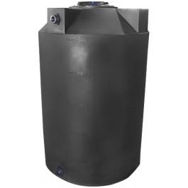 500 Gallon Dark Grey Vertical Storage Tank