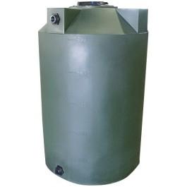 500 Gallon Dark Green Vertical Storage Tank