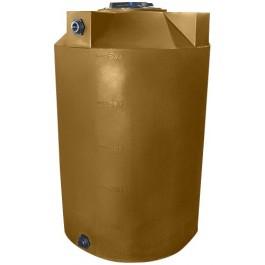 500 Gallon Mocha Vertical Storage Tank