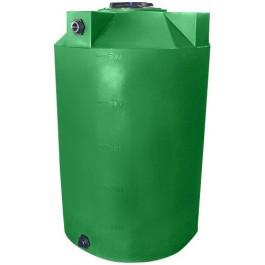 500 Gallon Light Green Vertical Storage Tank