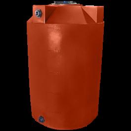 500 Gallon Red Brick Vertical Water Storage Tank