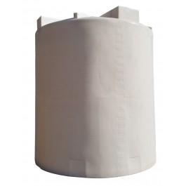 10000 Gallon White Heavy Duty Vertical Storage Tank