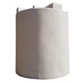 10000 Gallon White Vertical Water Tank