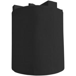 10000 Gallon Black Vertical Water Tank