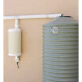 """3"""" Round to 12"""" Round Post/Wall-Mounted First Flush Water Diverter Kit"""