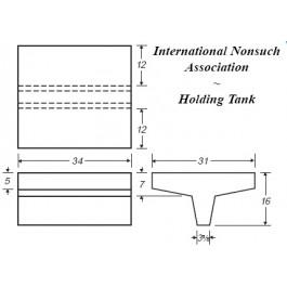 34 Gallon Marine Holding Tank