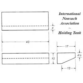 22 Gallon Marine Holding Tank