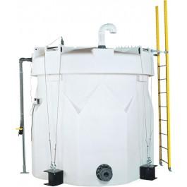 1550 Gallon Sodium Hypochlorite (UV) Double Wall Tank