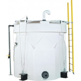 6500 Gallon Sodium Hypochlorite (UV) Double Wall Tank