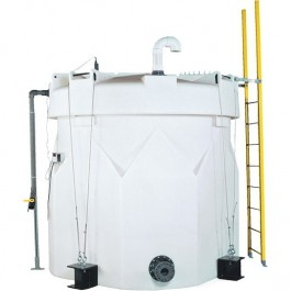 3000 Gallon Sulfuric Acid Double Wall Tank
