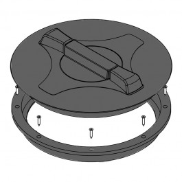 """14"""" Vented Threaded Tank Lid"""