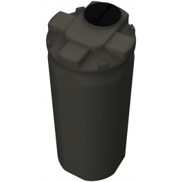 250 Gallon ASTM HDPE Black Double Wall Tank