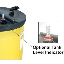 Level Gauge For Snyder 120 Gallon Waste Oil Tank