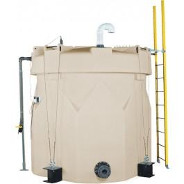 1100 Gallon ASTM XLPE Double Wall Tank