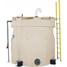 1550 Gallon ASTM XLPE Double Wall Tank