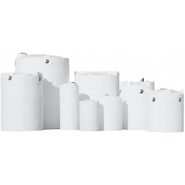 6500 Gallon ASTM XLPE Vertical Storage Tank