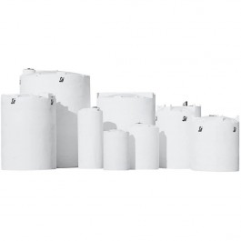 35 Gallon Sodium Hypochlorite (UV) Vertical Storage Tank