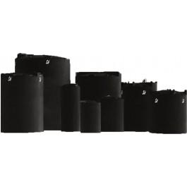 6500 Gallon ASTM XLPE Black Vertical Storage Tank
