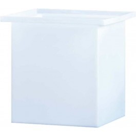 25 Gallon PP Rectangular Open Top Tank