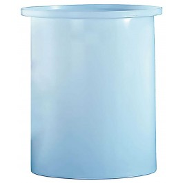 8 Gallon PE Cylindrical Open Top Tank