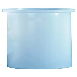 17 Gallon PE Cylindrical Open Top Tank