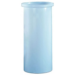 40 Gallon PP Cylindrical Open Top Tank