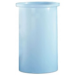 55 Gallon PE Cylindrical Open Top Tank