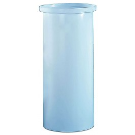 105 Gallon PP Cylindrical Open Top Tank