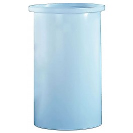 102 Gallon PE Cylindrical Open Top Tank