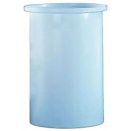 100 Gallon PP Cylindrical Open Top Tank