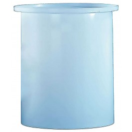 110 Gallon PP Cylindrical Open Top Tank