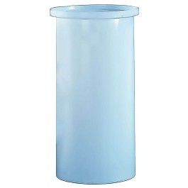 180 Gallon PE Cylindrical Open Top Tank