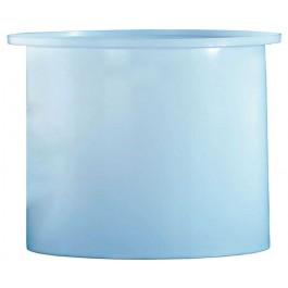125 Gallon PE Cylindrical Open Top Tank