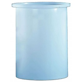 200 Gallon PP Cylindrical Open Top Tank