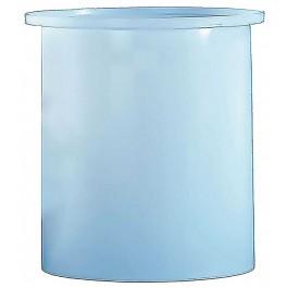 275 Gallon PE Cylindrical Open Top Tank