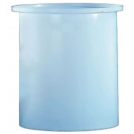 275 Gallon PP Cylindrical Open Top Tank