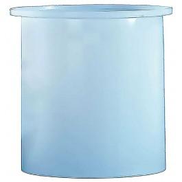 330 Gallon PE Cylindrical Open Top Tank