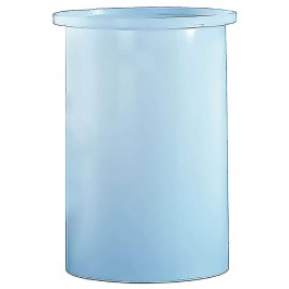 550 Gallon PE Cylindrical Open Top Tank