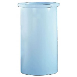 650 Gallon PE Cylindrical Open Top Tank