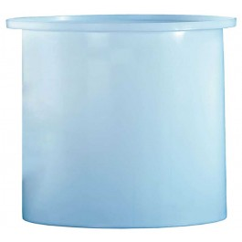 440 Gallon PP Cylindrical Open Top Tank