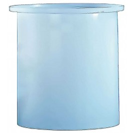 800 Gallon PE Cylindrical Open Top Tank