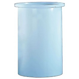 1100 Gallon PE Cylindrical Open Top Tank