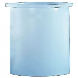 6400 Gallon PE Cylindrical Open Top Tank