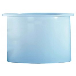 675 Gallon PE Cylindrical Open Top Tank