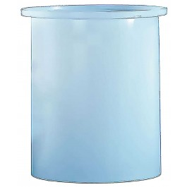 1250 Gallon PE Cylindrical Open Top Tank