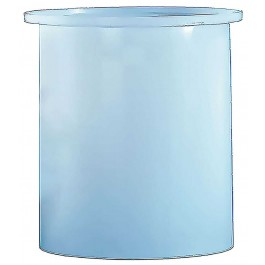 1500 Gallon PE Cylindrical Open Top Tank