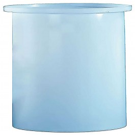 2000 Gallon PE Cylindrical Open Top Tank