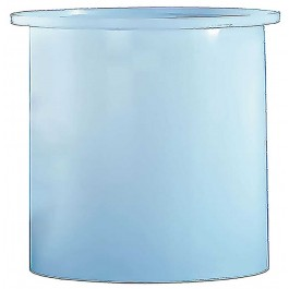 2925 Gallon PE Cylindrical Open Top Tank
